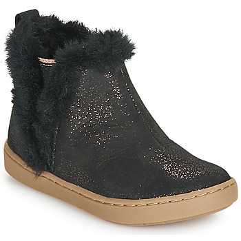 Shoes Girl Mid boots Shoo Pom PLAY YETI Black