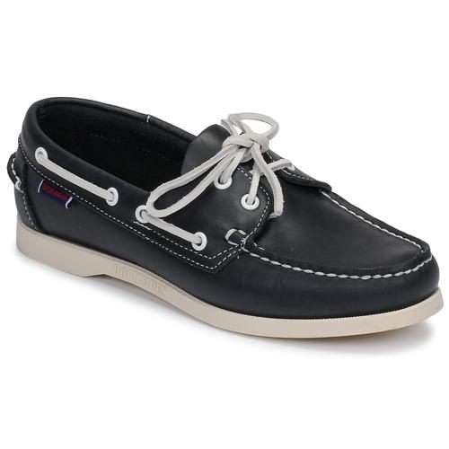 Shoes Women Boat shoes Sebago DOCKSIDES PORTLAND W Blue