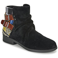 Shoes Women Mid boots Desigual OTTAWA PATCH Black