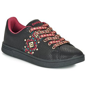Shoes Women Low top trainers Desigual COSMIC NAVAJO Black