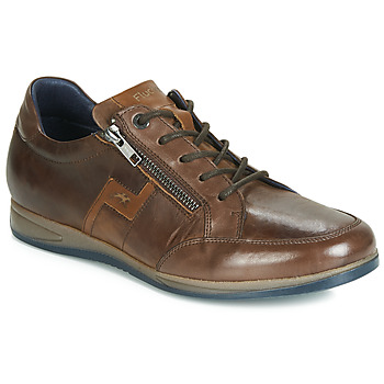 Shoes Men Low top trainers Fluchos DANIEL Brown