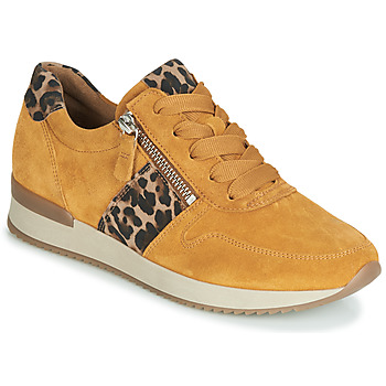 Shoes Women Low top trainers Gabor 3342010 Mustard