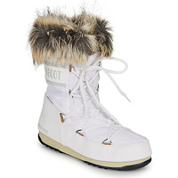 Shoes Women Snow boots Moon Boot MOON BOOT MONACO LOW WP 2 White