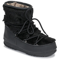 Shoes Women Snow boots Moon Boot MOON BOOT MONACO LOW FUR WP Black