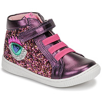 Shoes Girl High top trainers Agatha Ruiz de la Prada FLOW Violet / Pink