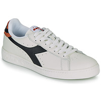 Shoes Low top trainers Diadora GAME L LOW White / Black / Caramel