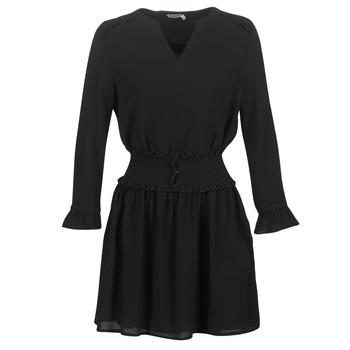 material Women Short Dresses Kaporal DOLLI Black