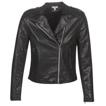 material Women Leather jackets / Imitation le Kaporal XUT Black