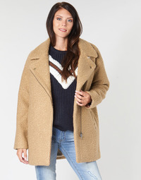 material Women coats Kaporal DALIA Beige / Brown