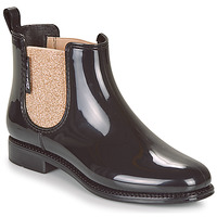 Shoes Women Wellington boots Be Only NASHVILLE Black / Gold
