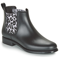 Shoes Women Wellington boots Be Only DAKAR Black / Leopard
