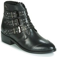 Shoes Women Mid boots Pepe jeans CHISWICK EASY Black