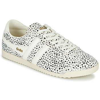 Shoes Women Low top trainers Gola BULLET CHEETAH White / Black