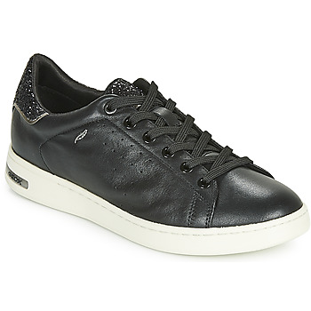 Shoes Women Low top trainers Geox D JAYSEN Black
