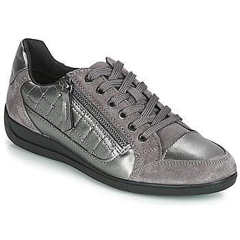 Shoes Women Low top trainers Geox D MYRIA Grey / Silver