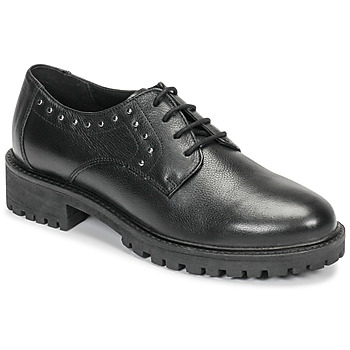 Shoes Women Derby shoes Geox D HOARA Black