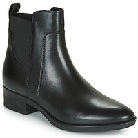 Shoes Women Mid boots Geox D FELICITY Black