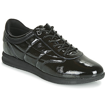 Shoes Women Low top trainers Geox D AVERY Black