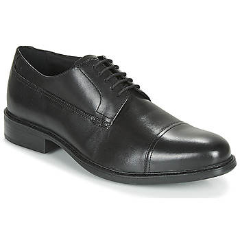 Shoes Men Derby shoes Geox UOMO CARNABY Black