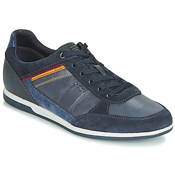 Shoes Men Low top trainers Geox U RENAN Marine
