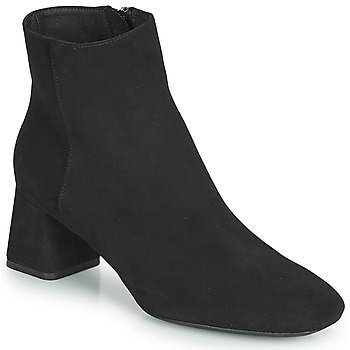 Shoes Women Ankle boots Geox D SEYLA Black