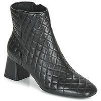 Shoes Women Ankle boots Geox D SEYLA Black