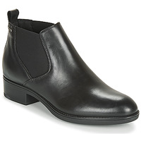 Shoes Women Mid boots Geox D FELICITY NP ABX C Black