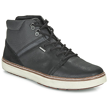 Shoes Men Mid boots Geox U MATTIAS B ABX Black