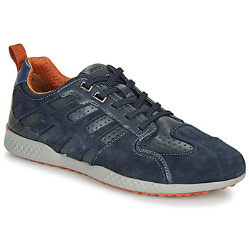 Shoes Men Low top trainers Geox U SNAKE.2 Marine