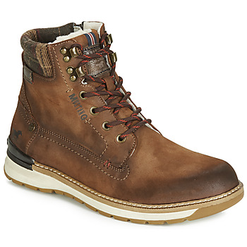 Shoes Men Mid boots Mustang 4141602 Brown