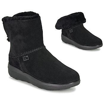 Shoes Women Mid boots FitFlop MUKLUK SHORTY III Black