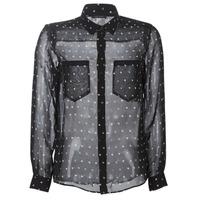 material Women Shirts Ikks BP12165-02 Black