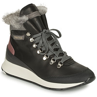Shoes Women High top trainers Philippe Model MONTECARLO Black
