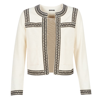 material Women Jackets / Cardigans One Step MINA White