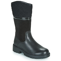 Shoes Girl Boots Geox J CASEY GIRL WPF Black