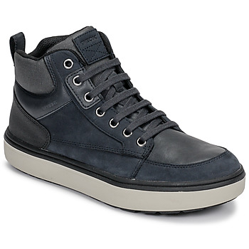 Shoes Boy High top trainers Geox J MATTIAS B BOY ABX Blue / Black