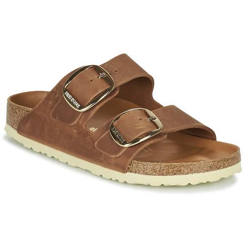 Shoes Women Mules Birkenstock ARIZONA BIG BUCKLE Brown