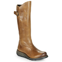 Shoes Women Boots Fly London MOL 2 Camel