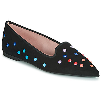 Shoes Women Ballerinas Pretty Ballerinas  Black / Multicoloured