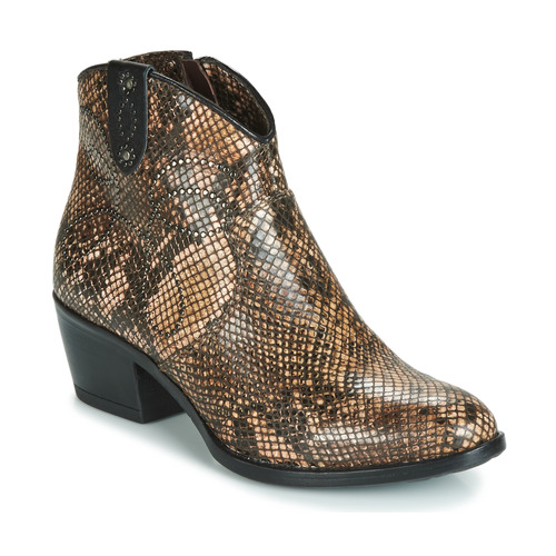 Shoes Women Mid boots Metamorf'Ose FALERS Python