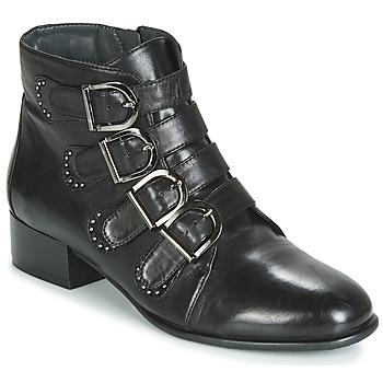 Shoes Women Mid boots Metamorf'Ose FAMO Black