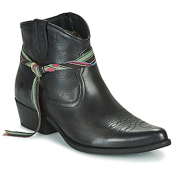 Shoes Women Mid boots Felmini LAVANA Black