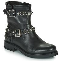 Shoes Women Mid boots Café Noir CHARLIE Black