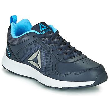 Shoes Boy Low top trainers Reebok Sport REEBOK ALMOTIO 4.0 Black / Blue