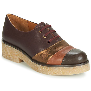 Shoes Women Derby shoes Chie Mihara YELLOW Bordeaux