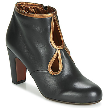 Shoes Women Ankle boots Chie Mihara KOSPI Black / Gold