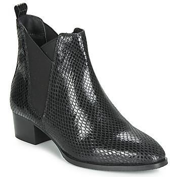 Shoes Women Ankle boots Ravel LOBURN Black