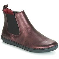 Shoes Women Mid boots Kickers FANTIN Violet