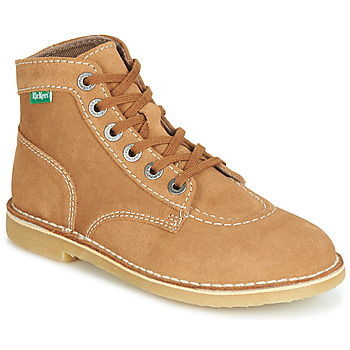 Shoes Women Mid boots Kickers ORILEGEND Camel