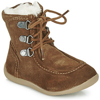 Shoes Children Boots Kickers BAMARA Camel